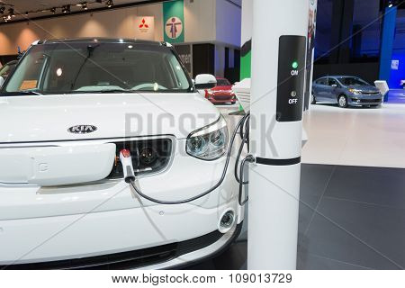 Kia Electric Charging Station