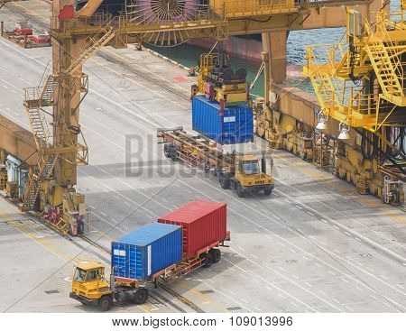 Container Cargo Loading