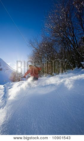 Freeride Skier