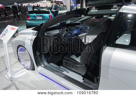 Toyota Mirai Back To The Future Edition