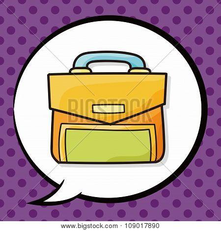 Briefcase Doodle