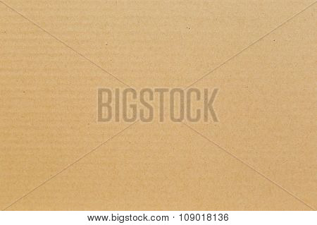 Brown Cardboard Paper Texture And Background