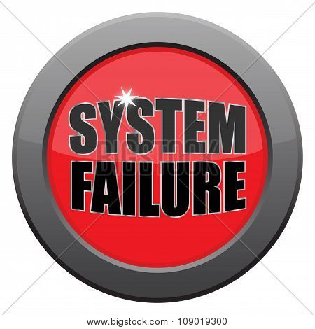 System Failure Dark Metal Icon