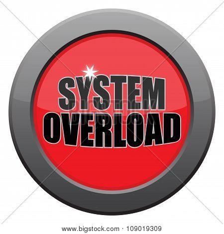 System Overload Dark Metal Icon