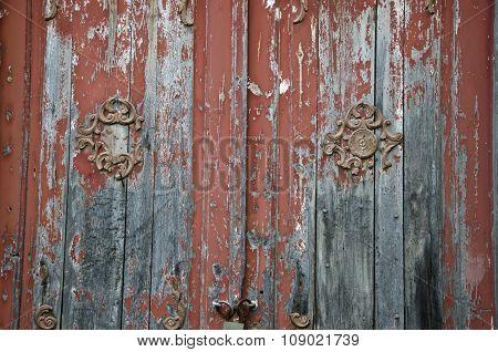 Antique Doors With Decorations