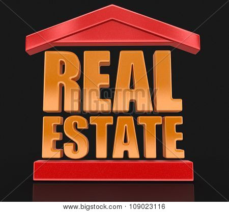 Real Estate (clipping path included)