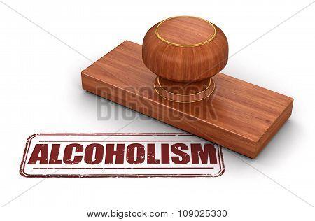 Stamp alcoholism