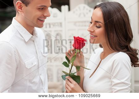 This beautiful flower is only for you