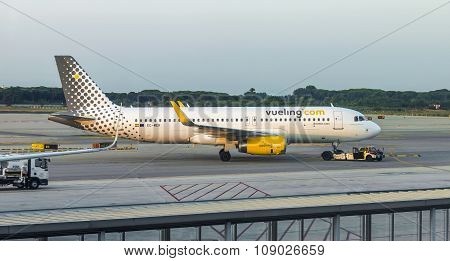 Aircraft Of Vueling Airlines
