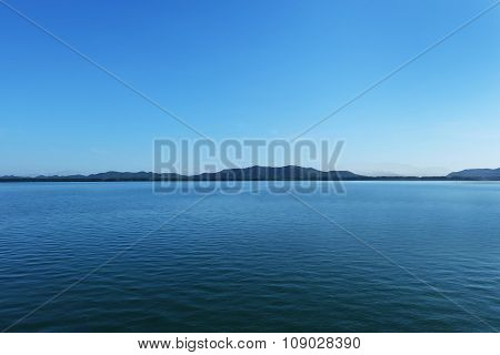 Peaceful is a Blue sea