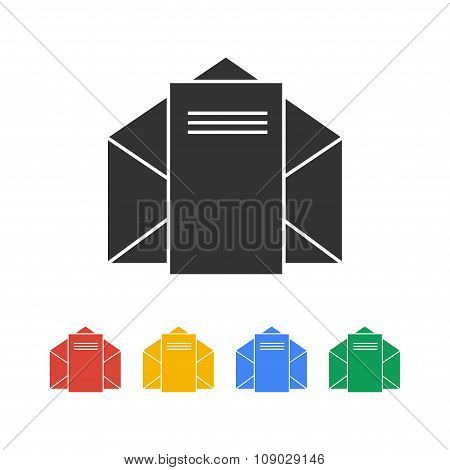 Envelope Mail Symbol.