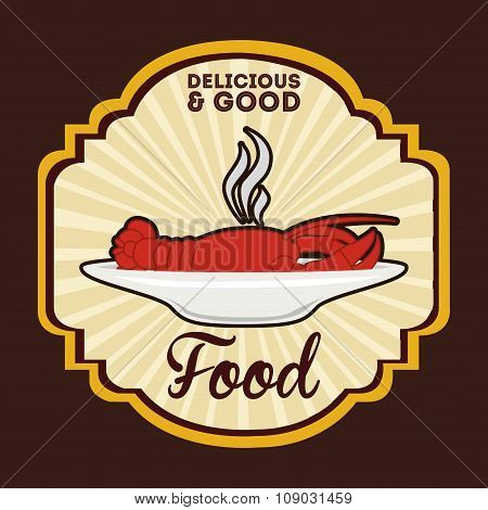 delicious and good food design