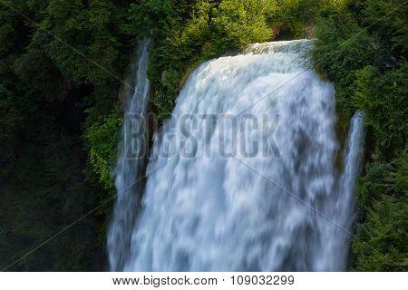Man-made Waterfall Cascata Delle Marmore Terni, Umbria, Italy