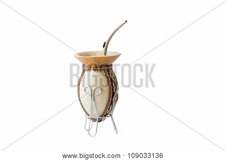 Mate On White Background