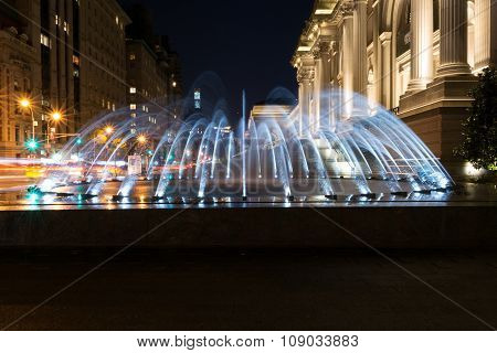 Fountain By The Met
