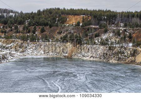Abandoned Quarry Precious Minerals