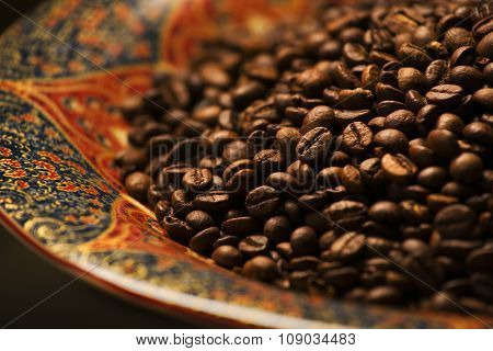 Grains of coffee