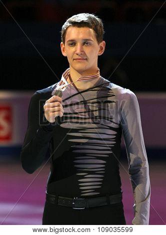 Maxim Kovtun (rus) With Silver Medal