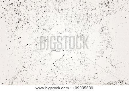 White Wall Background In Interior