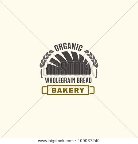 Vector editable Bakery logo