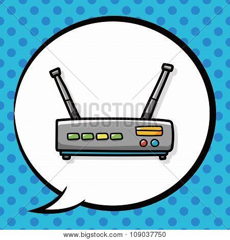 Wireless Machine Doodle