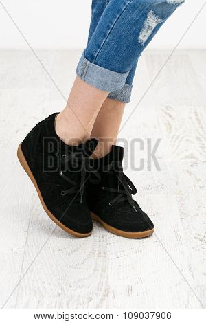 The Black Shoes