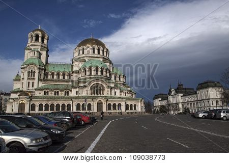 Church Aleksander Nevski, Sofia Bulgaria