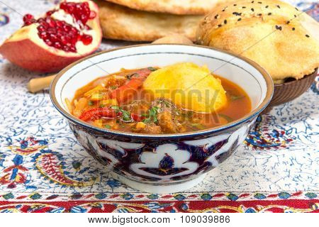 Chorba Or Shurpa - A Traditional Central Asian Soup