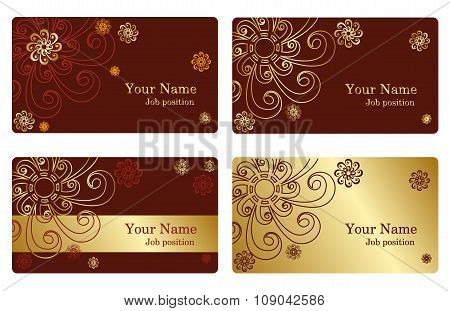 Gold Business Cards