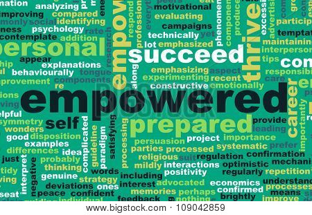 Empowered or Empowerment of Self as a Concept