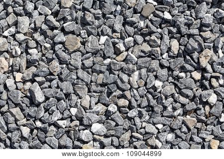 Crushed Grey Stones