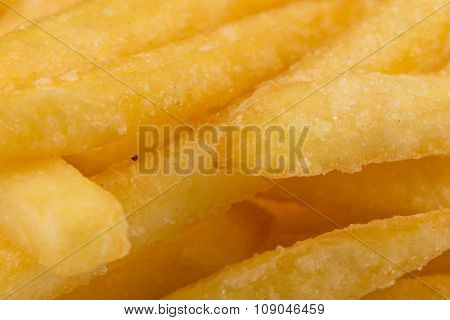 Fried Potatoes Closeup