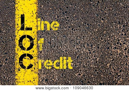 Business Acronym Loc As Line Of Credit