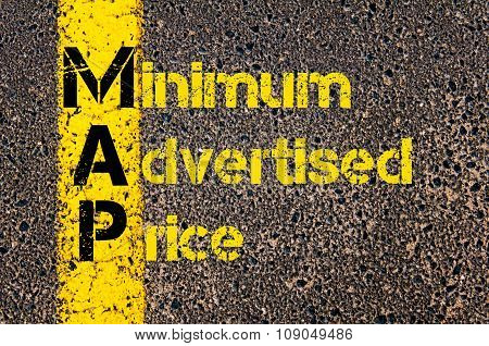 Business Acronym Map As Minimum Advertised Price
