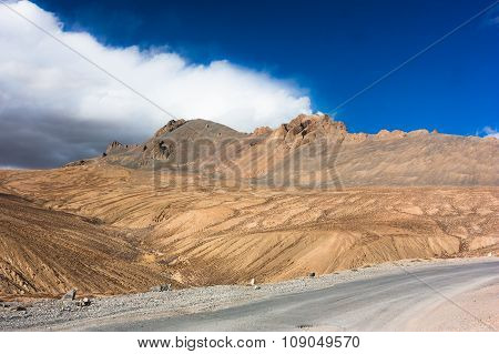 Fantastic himalayas mountains landscape