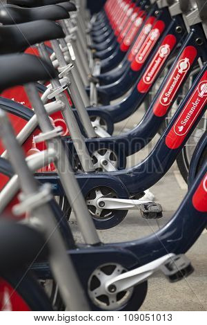Rental Bicycles in London