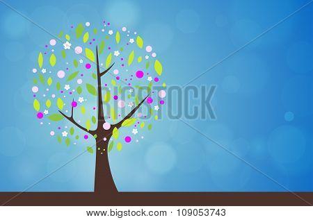 Abstract Tree - Spring Season