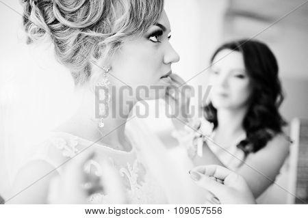 Bridesmaid Wear Earrings Bride