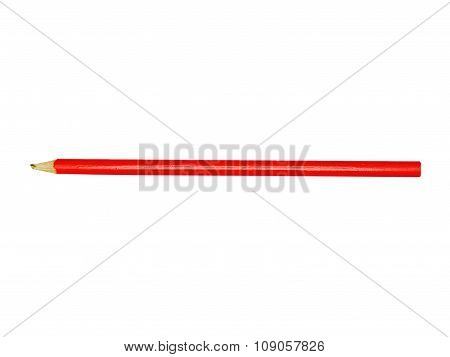 Broken Red Pencil