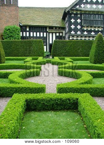 An Old English Knot Garden