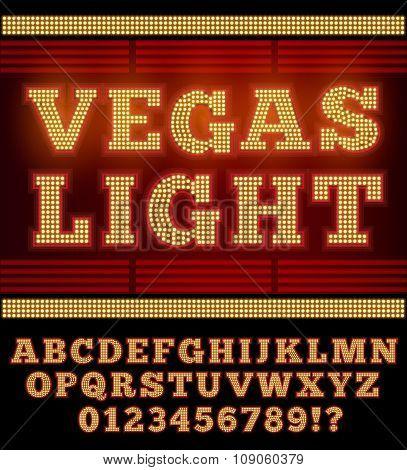 Vegas Night Font