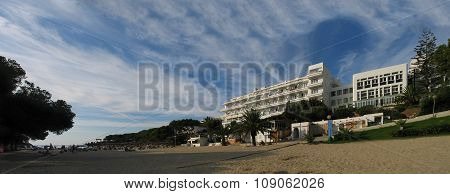 Cala D'or, Majorca, Spain - September 3, 2007: Hotel Rocador In Cala D'or At Cala Gran Bay On Septem