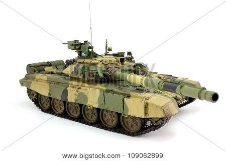 Model Of A Modern Russian T-90A
