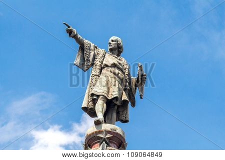 Barcelona. Monument to Christopher Columbus.