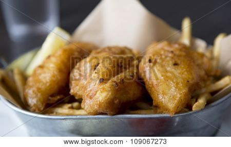 Crusty Fried Fish Fillets