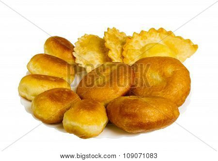Fried Pies And Pasties Isolated