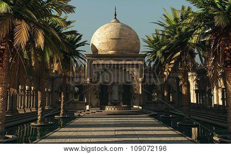 Golden Hours In Arabia, 3D Cg