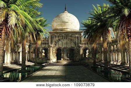 Magical Arabia, 3D Cg