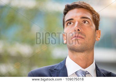 Portrait of a businessman
