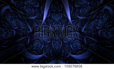 Alien Visions Fractal 3D Abstract Art